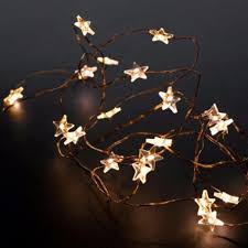 copper wire lights battery 20 led copper wire trille star indoor fairy lights 13 liked on