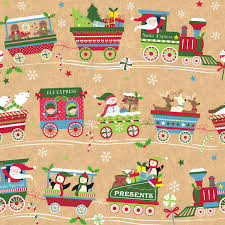Gift Wrap Wholesale - christmas train christmas bags and wrap collection boxandwrap com
