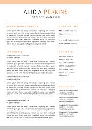 Best Resume Templates In 2015 by Top 6 Resume Templates For Mac Hashthemes