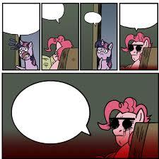 Staredad Meme - 349486 comic meme pinkie pie semi grimdark staredad twilight