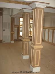 Dining Room Columns Professional Carpentry Trim And Cabinets In Atlanta Columns
