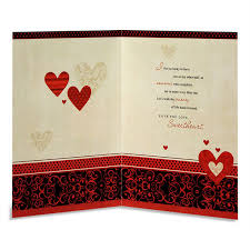 card for husband stylish hearts anniversary card for husband at best prices in