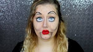marionette puppet halloween makeup youtube