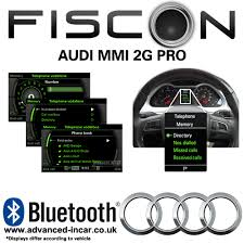 bluetooth audi fiscon audi mmi 2g bluetooth retrofit advanced in car technologies
