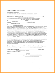 Durable Power Of Attorney Form Texas 7 sc general power of attorney form week notice letter