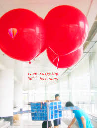 36 inch balloons 2018 wholesale 30 inch big helium balloons toys party