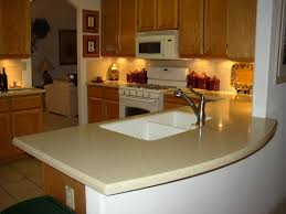 Under Cabinet Lighting Options Kitchen Furniture White Corian Countertops With Brizo Faucet And Under