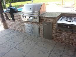 Outdoor Kitchen With Sink Swimming Pools U0026 Backyard Resorts Backyard Living Nashville