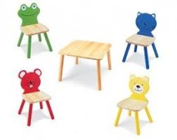 Kids Wooden Table And Chairs Set Childrens Table And Chair Sets Wooden Foter