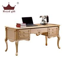 High End Computer Desk Amazing The New High End Writing Desk Wood Carved Desk Champagne