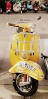 93 best yellow paint vintage vespa scooters images on pinterest