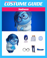 Inside Out Costumes Diy Sadness Costume Guide Inside Out Go Go Cosplay