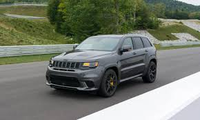 2018 jeep grand cherokee hellcat 2018 jeep grand cherokee trackhawk first drive review autonxt
