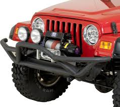 jeep wrangler front grill rugged ridge 11502 11 rrc front grille guard for 87 06 jeep
