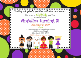 17 best ideas about halloween birthday invitations on pinterest