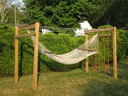 Outdoor Hammock With Stand Inspirations Strong And Fully Adjustable Homemade Hammock Stand