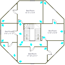 Octagon Home Plans Octagon House Floor Plans