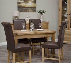 rustic oak dining table coniston rustic solid oak small extending dining table oak