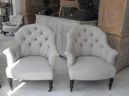 Antique Armchairs Anton U0026 K Pair Of French 19thc Button Back Armchairs This One