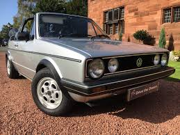 volkswagen golf mk1 modified used volkswagen golf 1 8 for sale motors co uk