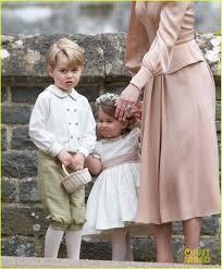 prince george u0026 princess charlotte were so cute at pippa