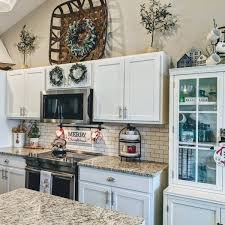 how to decorate above kitchen cabinets 2020 tobacco basket wall décor ballard designs in 2020