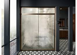 Infold Shower Door by Shower Door Guide Bathroom Kohler