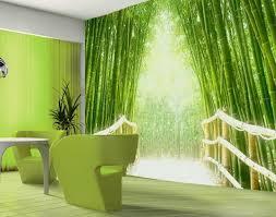 green wallpaper room fascinating 3d wallpaper ideas to adorn your living room