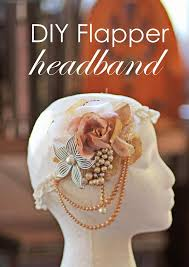 how to make a 1920s hairpiece best 25 flapper headband ideas on pinterest flapper hairstyles