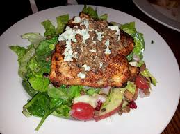 cadillac ranch nutrition black and blue salmon salad yelp