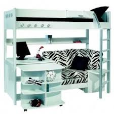 Bunk Bed With Sofa Bed Bunk Beds With Desks Underneath Thing