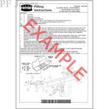 lexus rx300 towing witter towbar for lexus rx400h 2005 2009 flange tow bar ebay