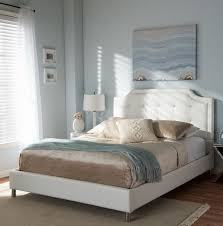 twin upholstered headboard white home design ideas