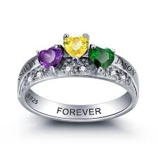 family birthstone rings popular mothers birthstone jewelry buy cheap mothers birthstone