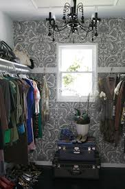 small chandelier for walk in closet house design ideas