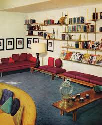 Kitsch Home Decor by 60s Living Room Remarkably Retro 1950s Living Room Design My