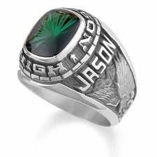 highschool class ring men s siladium designer triumph high school class ring by