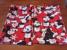 Red Mickey Mouse Curtains Mickey Mouse Curtains Ebay