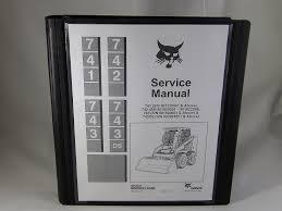 amazon com bobcat 741 742 743 743 ds skid steer service manual