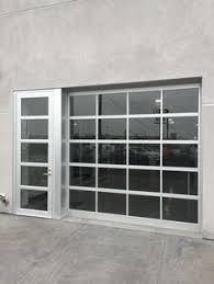 garage glass doors clear glass garage doors with passing door greenhouse