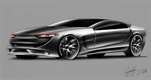latest car sketches on behance
