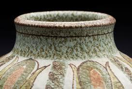 Denby Vase Pottery Stunning Vintage Denby Studio Pottery Vase By Glyn Colledge C 1960