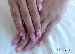 neon color nail matsuri