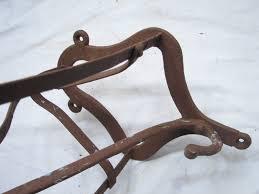 Horse Saddle by Antique Horse Saddle Bracket Holder Rack Harness Hook Equestrian