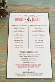 programs for wedding creative wedding programs 21st bridal world wedding ideas