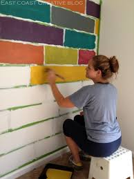 How To Paint An Accent Wall by Textured Wall Painting Ideas From Faux Wood To Linen Effects