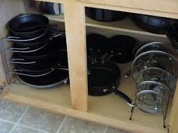 Organizing Pots And Pans In Kitchen Cabinets Cabinet Organization Pots Pans All This For 25 At Target