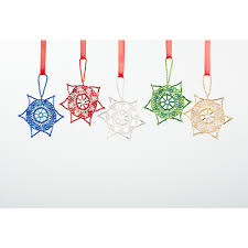 hand beaded fair trade guatemalan christmas ornament u2013 star