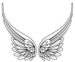 simple wings search tattoos