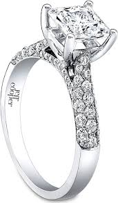 cathedral setting top ten engagement ring settings alson jewelers
